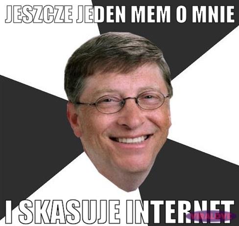 "Bill ""Pan Internetu"" Gates"