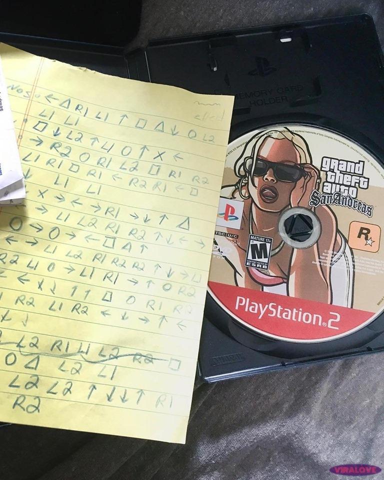 Kto pamięta kody do GTA:SA?